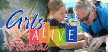 GreenLife Gallery Upcycled Art Creative Reuse Workshop at Arts Alive Festival in Mission Viejo
